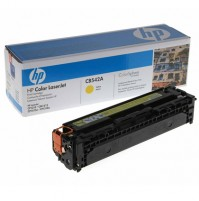 Зареждане на HP CB542A COLOR LASER JET CP1215 - Yellow